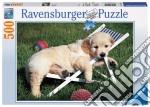 Puzzle 500 pz - cucciolo a riposo