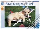 Puzzle 500 pz - cucciolo a riposo puzzle
