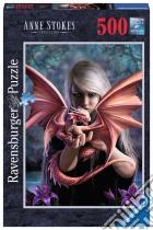 Ravensburger 14643 - Puzzle 500 Pz - Ragazza Con Drago puzzle