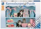 Ravensburger 14684 - Puzzle 500 Pz - Gattini E Cupcake puzzle