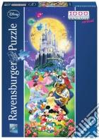 Puzzle 1000 Pz Panorama - Disney Castello puzzle