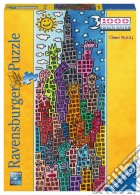 Ravensburger 15065 - Puzzle 1000 Pz - Panorama - James Rizzi - Fun Sun On The Right Night puzzle