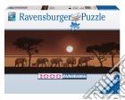 Puzzle 1000 pz - panorama: elefanti nella savana puzzle