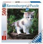 Puzzle 500 pz - gattino