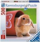Ravensburger 15223 - Puzzle 500 Pz - Quadrati - Dolce Coniglietto puzzle