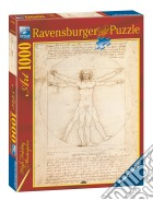 Ravensburger 15250 - Puzzle 1000 Pz - Arte - Leonardo - Uomo Vitruviano puzzle