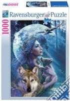 Puzzle 1000 pz - la donna e il lupo