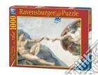 Puzzle 1000 pz - michelangelo: la creazione