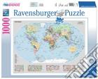 Ravensburger 15652 - Puzzle 1000 Pz - Fantasy - Mappamondo Politico puzzle