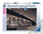 Puzzle 1000 pz - manhattan e il ponte brooklyn