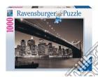 Puzzle 1000 pz - manhattan e il ponte brooklyn puzzle