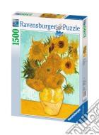 Ravensburger 16206 - Puzzle 1500 Pz - Van Gogh - Vaso Con Girasoli puzzle