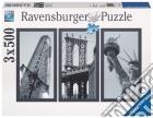Puzzle 1500 pz - impressioni di new york (3x500) puzzle