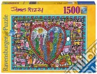 Ravensburger 16295 - Puzzle 1500 Pz - James Rizzi - All That Love In The Middle Of The City puzzle