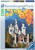 Puzzle 1500 pz - neuschwanstein in autunno puzzle