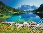 Lago alpino, tirolo puzzle