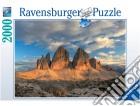 Puzzle 2000 Pz - Tre Cime Di Lavaredo puzzle
