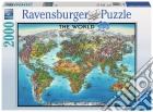 Ravensburger 16683 - Puzzle 2000 Pz - Mappamondo puzzle