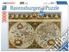 Ravensburger 17054 - Puzzle 3000 Pz - Mappamondo 1665 puzzle