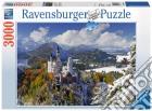 Ravensburger 17062 - Puzzle 3000 Pz - Castello Di Neuschwanstein In Inverno puzzle