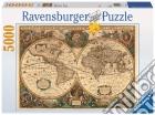 Puzzle 5000 pz - antico mappamondo