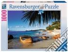 Puzzle 1000 Pz Foto E Paesaggi - Palme Sulla Spiaggia puzzle