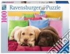 Puzzle 1000 pz - cuccioli di labrador