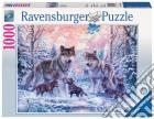 Ravensburger 19146 - Puzzle 1000 Pz - Animali - Lupi Artici puzzle