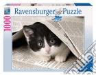 Puzzle 1000 pz - gattino curioso
