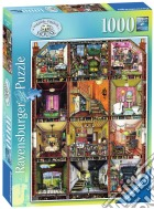 Ravensburger 19293 - Puzzle 1000 Pz - Fantasy - La Casa Bizzarra puzzle