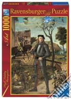 Ravensburger 19307 - Puzzle 1000 Pz - Arte - Vittore Carpaccio - Ritratto Di Cavaliere puzzle