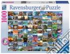 Ravensburger 19371 - Puzzle 1000 Pz - Foto E Paesaggi - 99 Siti Piu' Belli Del Mondo puzzle