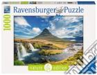 Ravensburger 19539 - Puzzle 1000 Pz - Foto E Paesaggi - Cascate Di Kirkjufell, Islanda puzzle