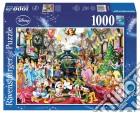 Ravensburger 19553 - Puzzle 1000 Pz - Fantasy - Natale Disney puzzle
