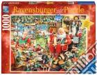 Ravensburger 19562 - Puzzle 1000 Pz - Fantasy - Gli Ultimi Preparativi Di Babbo Natale puzzle