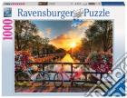 Ravensburger 19606 - Puzzle 1000 Pz - Foto E Paesaggi - Biciclette Ad Amsterdam puzzle
