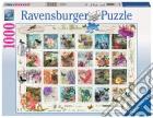 Collezione di francobolli puzzle