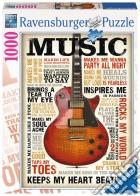 Ravensburger 19615 - Puzzle 1000 Pz - Fantasy - Music puzzle
