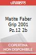 MATITE FABER GRIP 2001 PZ.12 2B  scrittura