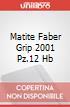 MATITE FABER GRIP 2001 PZ.12 HB scrittura