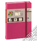 Taccuino habana a righe 10x15 rosa lampone scrittura