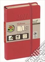 Agenda 2013 habana daily pocket 8,8x13 rosso