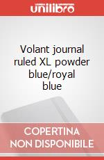 Volant journal ruled XL powder blue/royal blue articolo per la scrittura