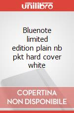 Bluenote limited edition plain nb pkt hard cover white articolo per la scrittura