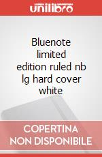 Bluenote limited edition ruled nb lg hard cover white articolo per la scrittura
