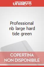 Professional nb large hard tide green articolo per la scrittura