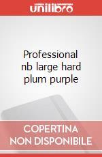 Professional nb large hard plum purple articolo per la scrittura