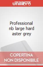 Professional nb large hard aster grey articolo per la scrittura
