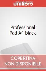 Professional Pad A4 black articolo per la scrittura