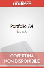 Portfolio A4 black articolo per la scrittura